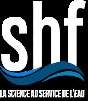 Logo SHF - Société Hydrotechnique de France : La science au service de l'eau